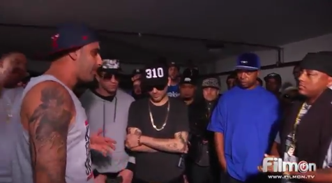 Dizaster vs Cassidy (Full Battle) BarzRus